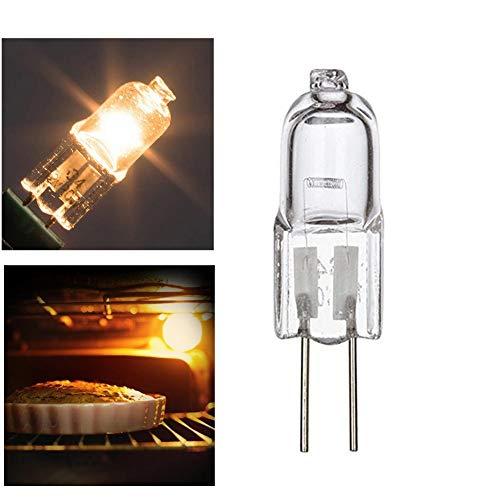 mementoy 20W G4 Oven Halogen - Backofenlampe 500 Grad C Hitzebeständige Ofen Lampe Für Ofen Und Mikrowelle (4er Pack)