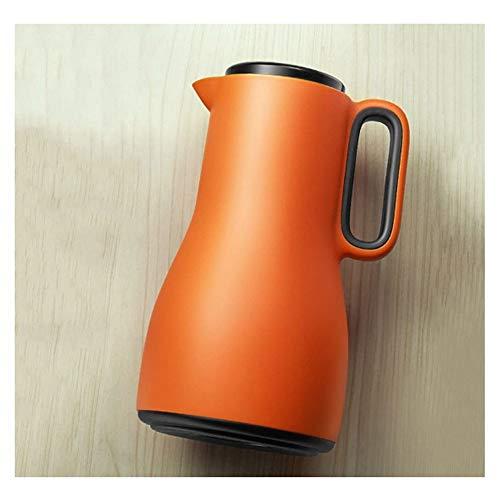Jarra Térmica cafe Jarra Termo Aislamiento olla vacío aislado jarra con aislamiento jarra térmica acero inoxidable olla de pared doble para jugo de café Bebidas de té de leche 1500 ml ( Color : A )