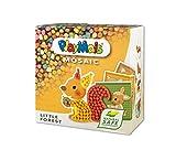 PlayMais Mosaic Little Forest Kreativ-Set zum Basteln für Kinder ab 3 Jahren | Über 2.300 6 Mosaik Klebebilder mit Waldtieren | Fördert Kreativität & Feinmotorik | Natürliches Spielzeug