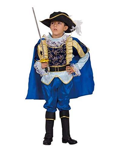 Dress Up America Costume per bambini nobile cavaliere, Multicolore, taglia 3-4 anni (vita: 66-71, altezza: 91-99 cm), 498-T4