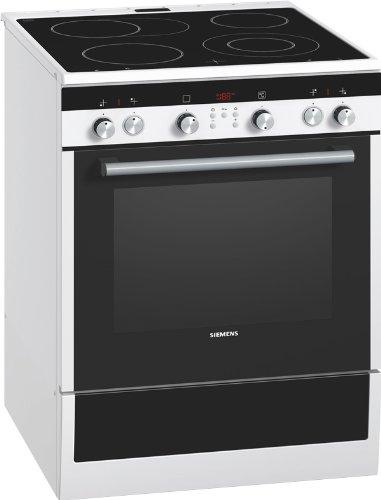 Siemens HC744240 Standherd / A / Kochfeld: Ceran / Herdfarbe: weiß / eco Plus / 3D-Heißluft plus