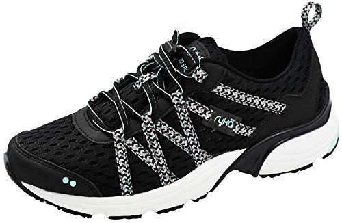 Ryka womens Hydro Sport athletic water shoes, Black 2, 8 US
