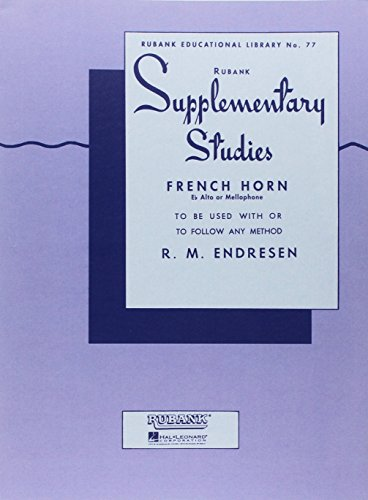 Supplementary Studies - French Horn in F or E-Flat and Mellophone