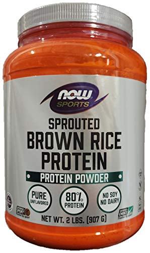 Now Foods, Sports, Sprouted Brown Rice Protein, 2 lbs (907 g)