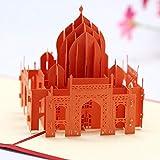 Cartolina d'auguri Taj Mahal 3D