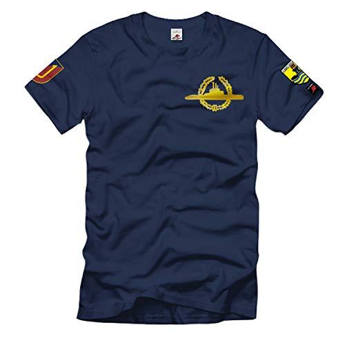 3 Ubootgeschwader U11 S190 U-Boot Bundes-Marine Bundeswehr Kiel T-Shirt #35063, Größe:M, Farbe:Dunkelblau