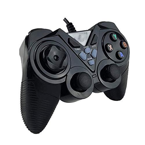 LXYSB TV PC Computer-Game-Controller, USB-Kabel Freier Antrieb 0,01 Sekunden Getriebe Game-Controller