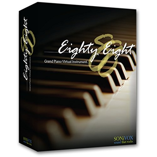 Sonivox Eighty Eight Ensemble 2.1 Grand Piano virtuelles Instrument für Musikproduktion