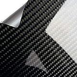 WrapWorkers Series Vinilo Carbono Negro Brillo Premium 300x152cm