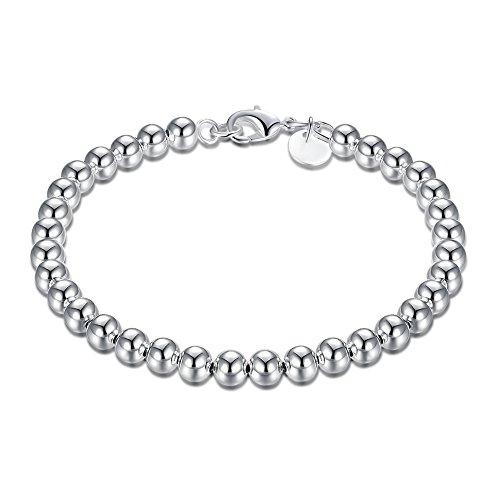 Luxus braccialetto regalo donna in argento 925 Ciondolo a forma di diametro 60 mm