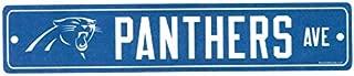 WinCraft NFL Carolina Panthers Street Sign