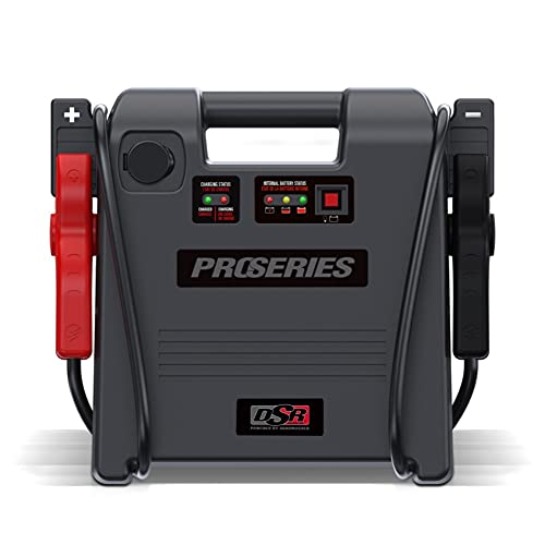 Schumacher DSR ProSeries Rechargeable AGM Jump Starter - 1800A, 12V - with 12V DC Power Port