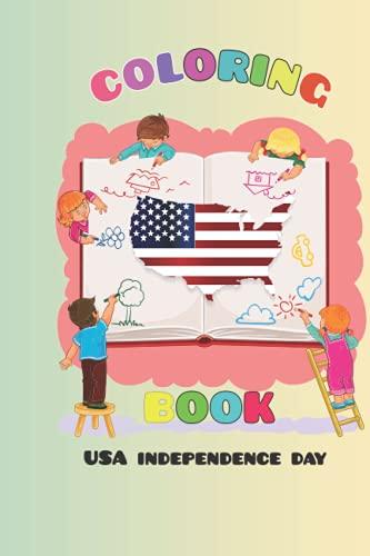 libro de refrigeración USA Indepandace day: libro de refrigeración USA Indepandace Day un buen regalo para niños de 2 a 8 años de edad preescolar y kinder garten 41 dibujos...
