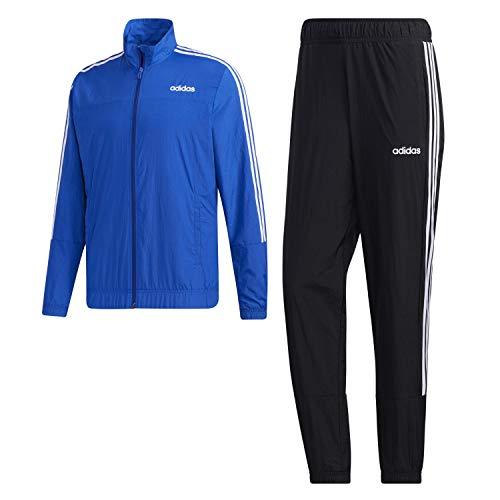 adidas M E TS, Tuta Uomo, Team Royal Blue/Black/White, S