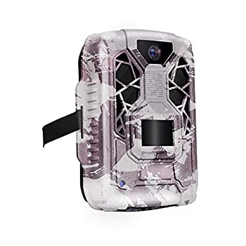 Trail Camera Full HD 12MP 1080P Hunting Game Camera,Motion Activated Night Vision Waterproof Scouting Cam Wireless Video Camera for Outdoor Wildlife Monitoring/Home Security