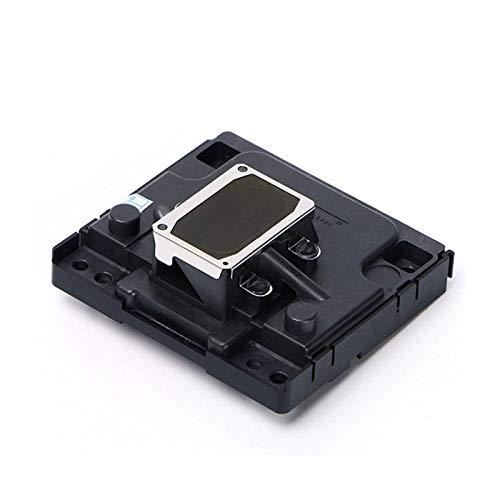 Impresora Accesorios F181010 Cabezal de impresión compatible con Epson SX130 SX125 TX100 ME2 TX219 C90 C92 D92 SX120 SX127 ME340 ME320 T26 T27 TX106 Printer. Color gris)