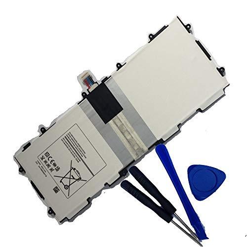Bestome - Batería de Repuesto para Samsung Galaxy Tab 3 10.1 GT-P5210, GT-P5200, GT-P5220, GT-P5213, P5210, P5200, P5220, P5213 T4500E, T4500c, AAaD503tS/7-b, AA1D625aS/7-B (con Herramientas)