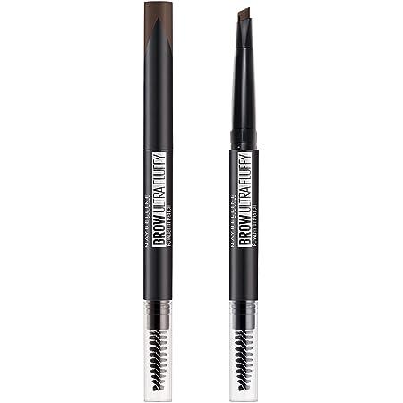 MAYBELLINE(メイベリン) ファッションブロウ パウダーインペンシル N アイブロウ 単品 BR-0 暗めの濃茶色 0.2グラム (x 1)