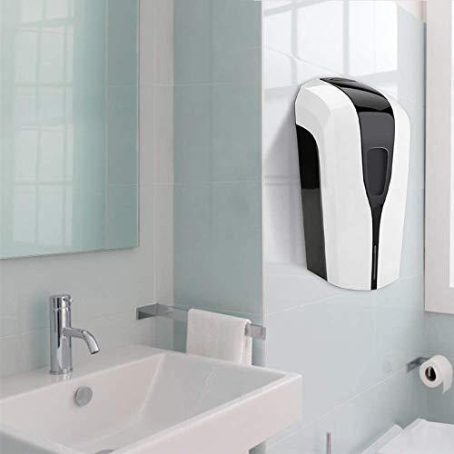 KKTECT Dispensador de Niebla de inducción 1000ML Esterilizador de Botella de Spray de Alcohol montado en la Pared Dispensador de Alcohol en Gel Home School, baño (Baterías no Incluidas)