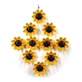 Pegatinas para neceras 10 unids flores amarillas imán magnet Modo de dibujos animados Pegatina Pegatina Resina Imanes de refrigerador para el hogar Accesorios de decoración de bricolaje ( Color : L )