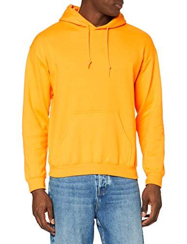 Gildan Heavyweight Hooded Sweatshirt Sweat-Shirt À Capuche, Or (Gold Gold), XXL Homme