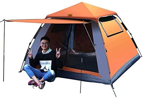 YYCHJU Carpa para Camping Tienda Tienda de Mochila Ligera de campaña de campaña, fácil de configurar, Adecuado para excursiones al Aire Libre, Senderismo y montaña (Color : Orange)