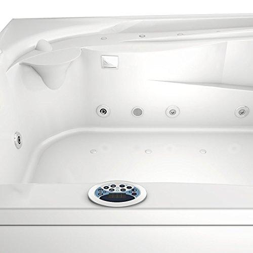 Whirlpool Vollausstattung Pool Eckwanne Wanne A612H-A Reinigungsfunktion 135×180, Selfclean:ohne +0.-EUR, Sonderfunktion2:Ring-Zirkulation +30.-EUR - 8