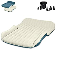 High Standard Material and Exquisite Design - WEY&FLY Double-sided flocking SUV mattress adopts 6P environmental protection, thickness 38UM, 58P PVC material, cold resistant 25 degree, composite breathable double-sided surface layer polymer polymer c...