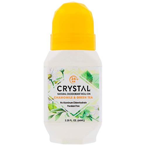 Crystal Essence Mineral Chamomile Deodorant Roll-On ( 1x2.25 OZ) by Crystal Essence