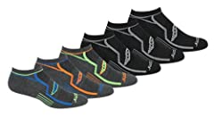 Run Dry Moisture Management Provides Superior Moisture Transport with our Ultra Wicking Fibers. So, Whether you're in the Gym or on the Road, your Feet Stay Fresh Air mesh venting. Mesh ventilation construction creates maximum airflow to keep your fe...