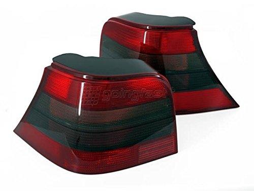 Rückleuchten Set Fahrer- und Beifahrerseite Links+Rechts Rot/Schwarz Eintragungsfrei