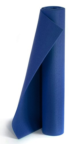 Yogistar Yogamatte Plus - rutschfest und extra lang - Königsblau