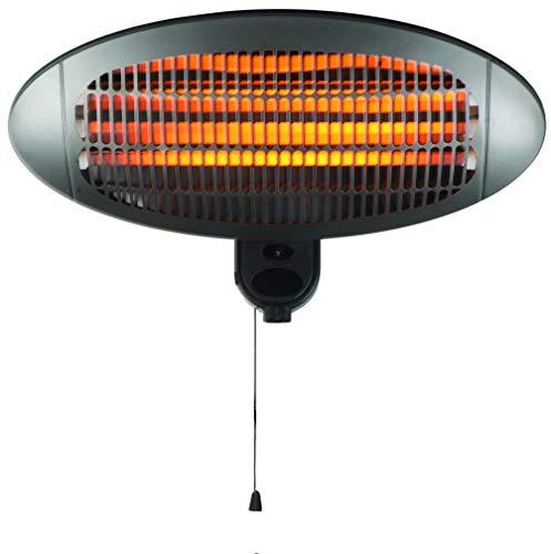 Neo 2KW Electric Quartz Outdoor Wall Mounted Garden Patio Heater Heating
