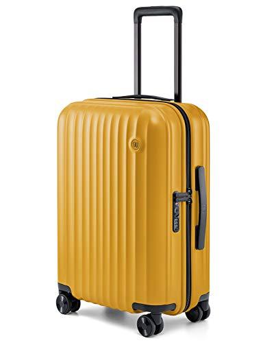 NINETYGO スーツケース 機内持ち込み キャリーバッグ キャリーケース Elbe 超軽量 静音キャスター TSAロック搭載 ダブルキャスター スムーズ走行 耐衝撃 360度回転 ファスナー式 (5年間安心保障)