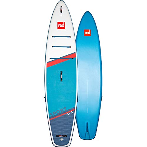 Red Paddle 11'0″ Sport Tabla Sup, Adultos Unisex, Multicolor, Uni