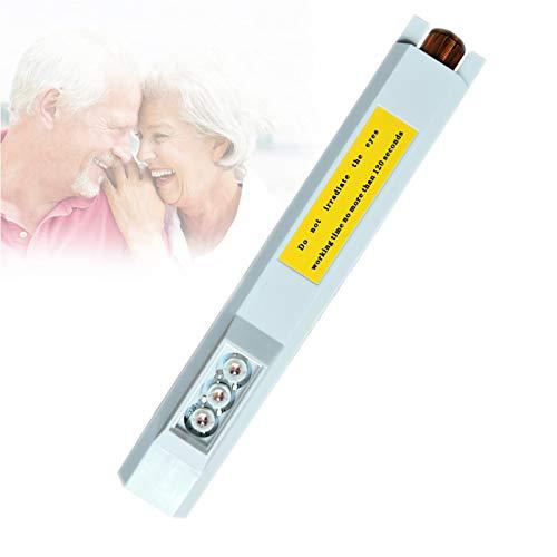 LED Instrumento Pantalla Vascular Portátil, Visor Buscador Venas, Transiluminador Buscador Venas Brillo Ajustable para Enfermeras, Cuidadores Y Estudiantes De Medicina