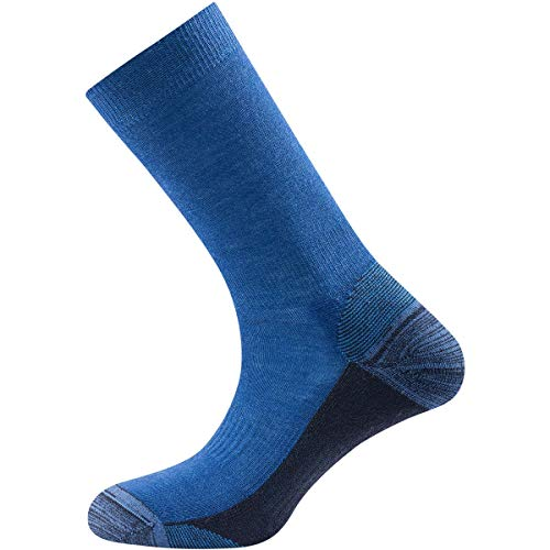 Devold Unisex Multi Medium Socken, Indigo, 41-43