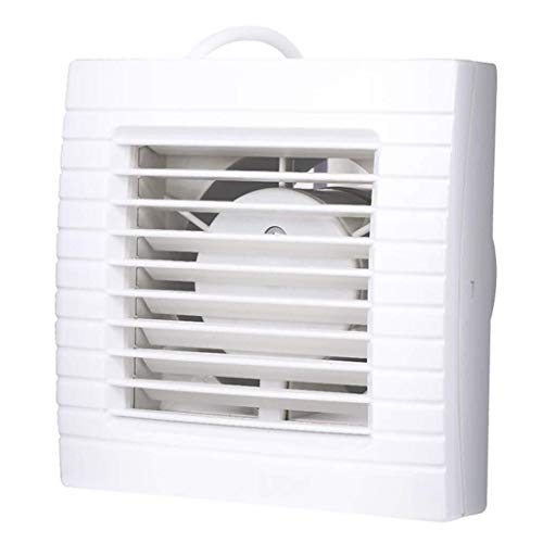 Sgfccyl ventilatierooster, 15,2 cm, winddruk, ramen, afvoerventilator, keuken, badkamer, energiebesparend, stil, ventilator, nominale spanning: 220 V, geluid: 42 dB, A ingangsvermogen.