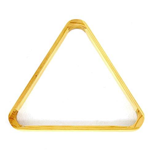 Nexos Billard Snooker Pool Dreieck aus Holz Triangel Triangle für 15 Billardkugeln 57,2mm Billardtisch