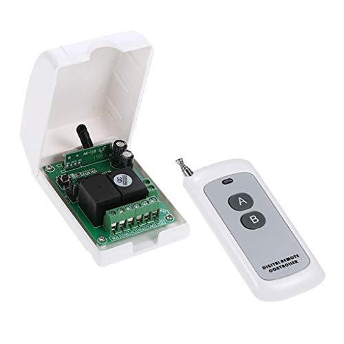 yotijar Interruptor de 2 Vías Dc12v con Controlador de Iluminación Remoto