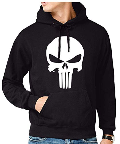 The Fan Tee Sudadera de Hombre Punisher Castigador Comic 002 L