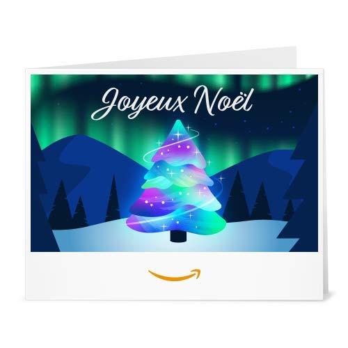 Chèque-cadeau Amazon.fr - Imprimer - Arbre de noël
