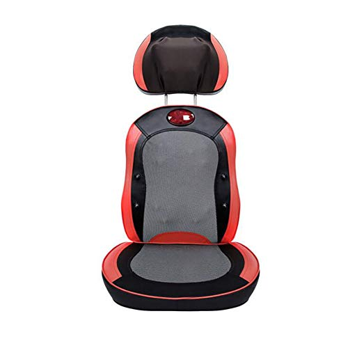 New Massager Electric Massage Seat Cushion Chair With 12 Heat Shiatsu Rolling Nodes For Kneading Best Gift