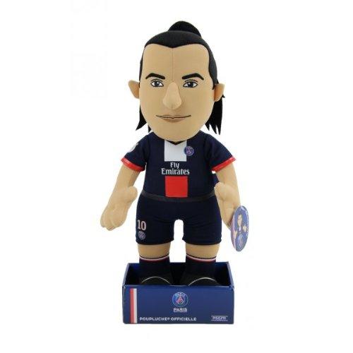 Zlatan Ibrahimovic Poupluche (Plüschfigur) 37 cm - PSG Trikot Home