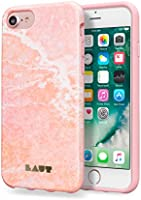 LAUT Huex Elements iPhone SE 2020 / iPhone 7/8 İçin Mermer Kılıf, Pembe