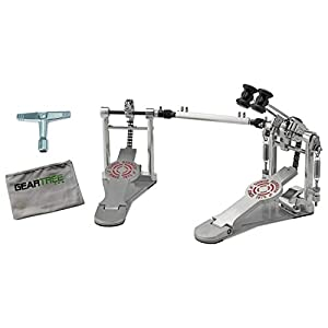 Sonor DP-4000-R 4000 Series Double Pedal Bundle w/Drum Key and Cloth