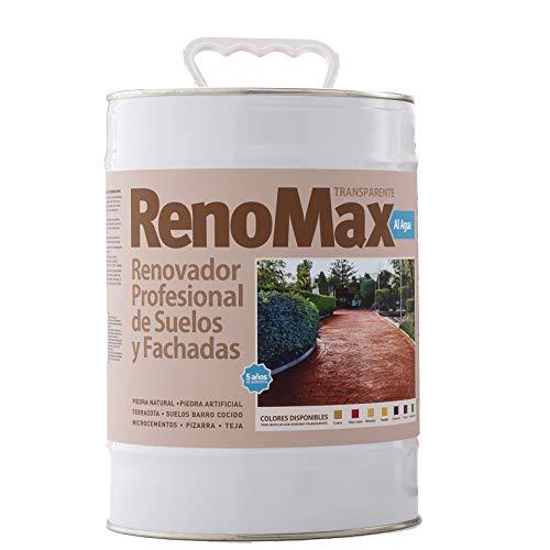 Renovador de suelos al agua. Resina pura base agua Premium para Hormigón...