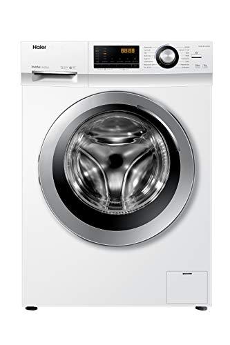 Haier HW90-BP14636N Waschmaschine Frontlader / A+++ / 9 kg / 1400 UpM / Inverter Motor / Dampf-Funktion / Vollwasserschutz / ABT / Eco 40-60 Programm