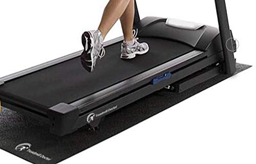 Treadmill Doctor Regular Treadmill Mat for Home Fitness Equipment - 3' X 6.6'