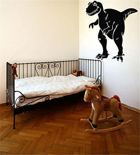 wandaufkleber baum mit fotos wandaufkleber babyzimmer Tyrannosaurus Rex Dinosaur Attack Wall Art Decal for boys room